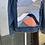 Thumbnail: Reclaimed Denim Jacket: Dueling Sunsets