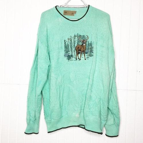 Let's Get Minty, Deer Sweater