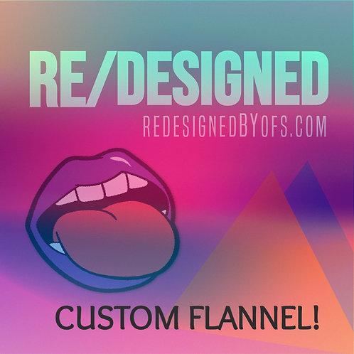 Custom Band Flannel Order