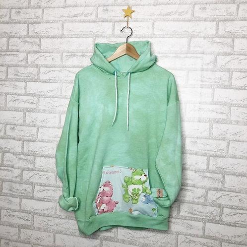 Pocket  Sweatshirt: Luck Bear & Love-A-Lot Bear Care Bears