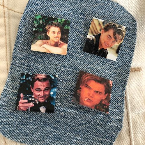 Pin Set: Leonardo DiCaprio