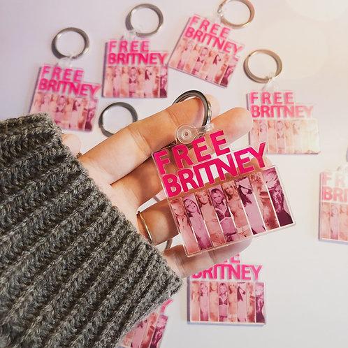 Free Britney Acrylic Keychain