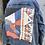 Thumbnail: Reclaimed Denim Jacket: Scattered Sunset