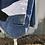 Thumbnail: Reclaimed Denim Jacket: Midnight Sunrise
