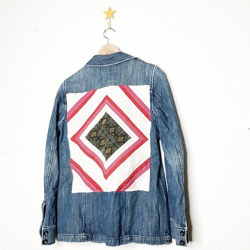 Tapestry Jean Jacket