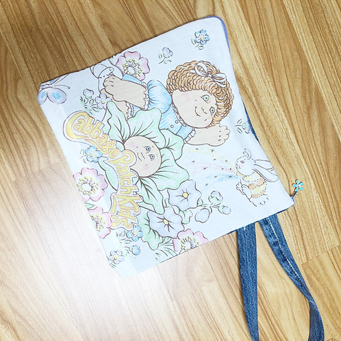 Reclaimed Wristlet: Cabbage Patch Kids