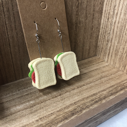 Sandwich Earrings