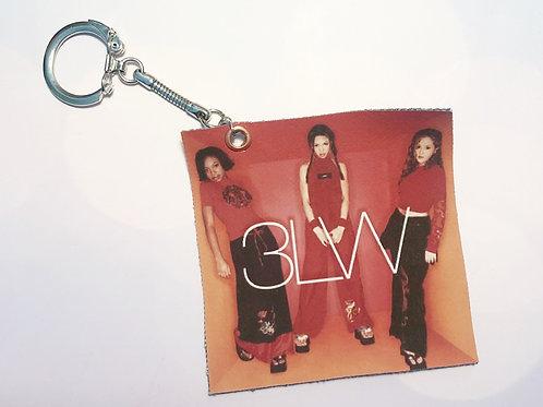 "3LW ""Hit Clips"" Key Chain"