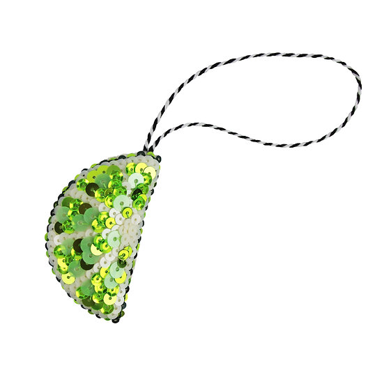 Lime Hanging Ornament