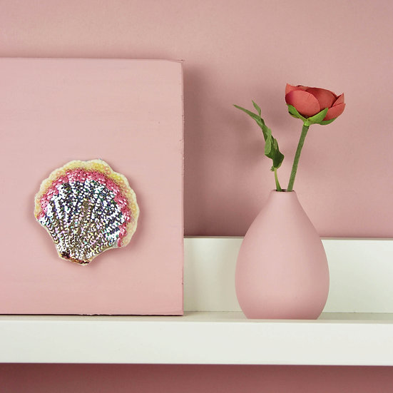 Scallop Limited Edition Sequin Hanging Ornament