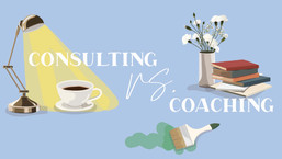 Consulting vs coaching