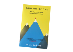Company of One, Paul Jarvis