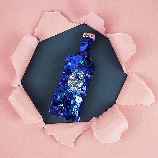 6 o'clock Gin Sequin Ornament