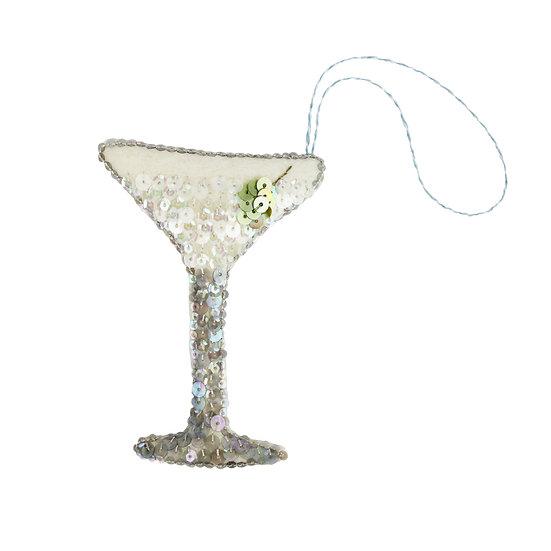 The Martini Heirloom Ornament