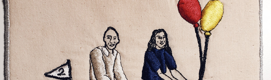 Bespoke Couples Embroidery
