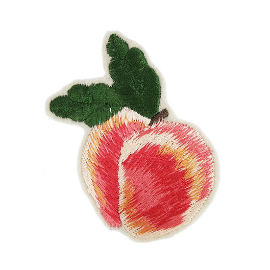 Peachy Keen Peach sew on patch