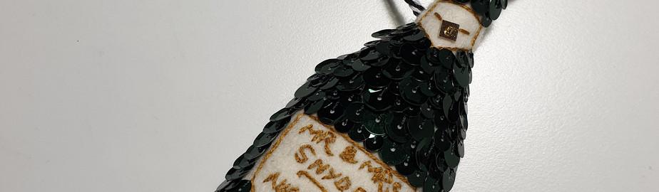 Custom Champagne Decoration