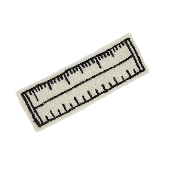 Ruler of All, 3 Inch Ruler sew on patch