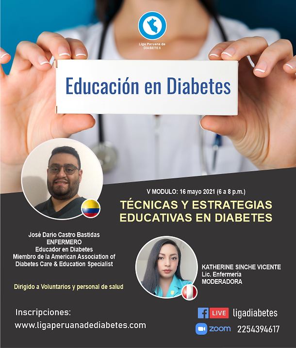 Educación en Diabetes Liga Peruana de Diabetes