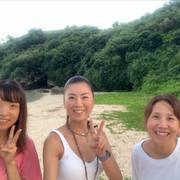ビーチヨガ 沖縄県本部町