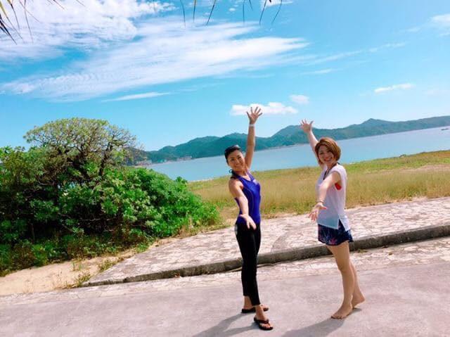 沖縄の美しい輝きに負けない素晴らしい舞