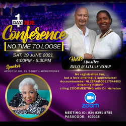 Yeshua's Touch International Virtual Conference Netherlands