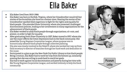 Ella Baker Details