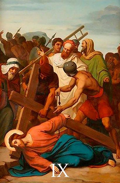 IX - Jesus cai pela terceira vez.jpg
