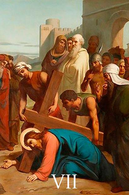VII - Jesus cai pela segunda vez.jpg