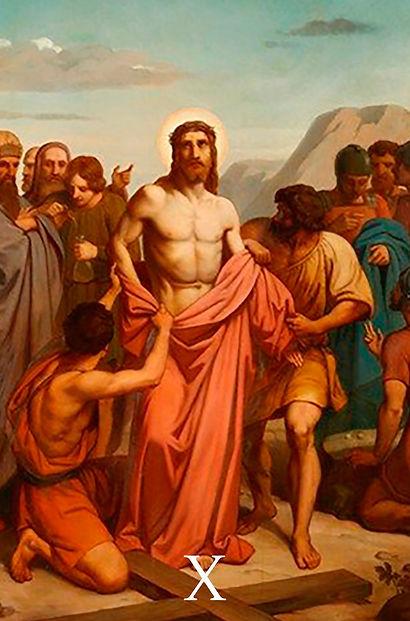 X - Jesus é despido das Suas vestes.jpg