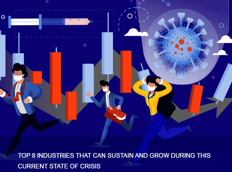 TOP 8 INDUSTRIES THAT CAN SUSTAIN AND GROW DURING THIS CURRENT STATE OF CRISIS