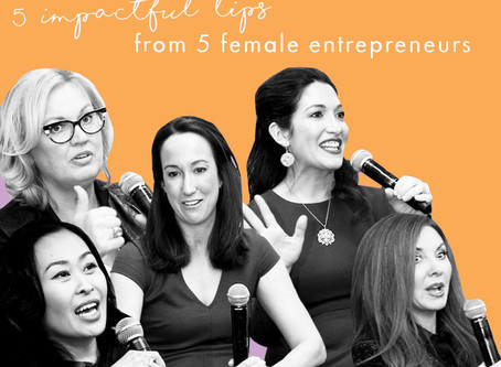 GREAT ADVICE FROM GREAT ROLE MODELS: Inspiration for Women Entrepreneurs