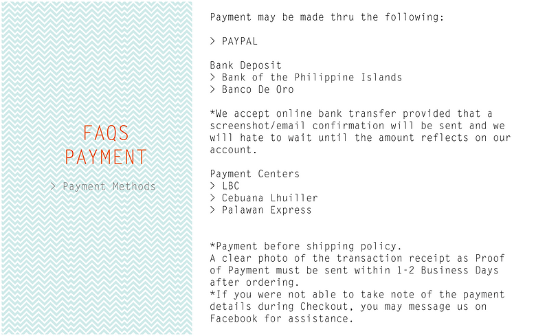 FAQs   Payment   The Closet Space Savers Company