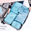 Thumbnail: 6 in 1 Luggage Packing Cubes Set