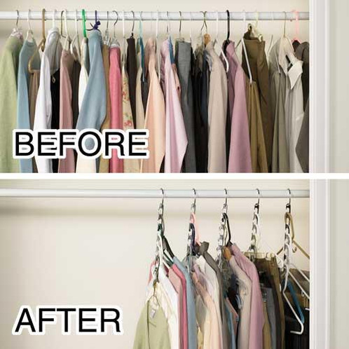 Have Too Many Clothes And Too Little Space In Your Closet? Then The Wonder  Hanger Is The Ultimate Closet Space Saver For You!