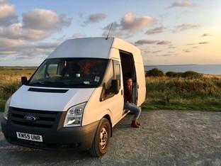 Transit to camper conversion