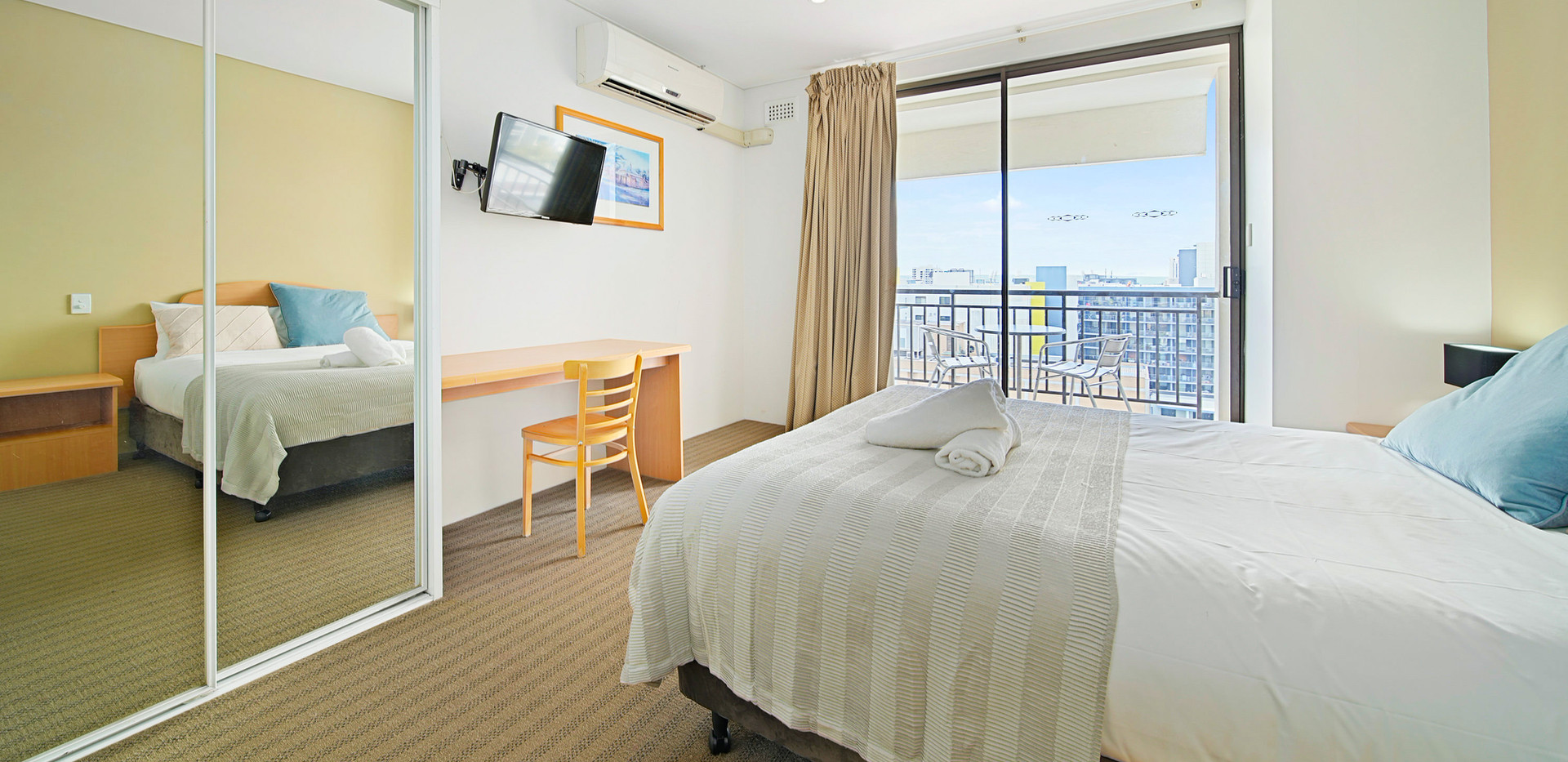 15. Main Bedroom - Two Bedroom - All Sui