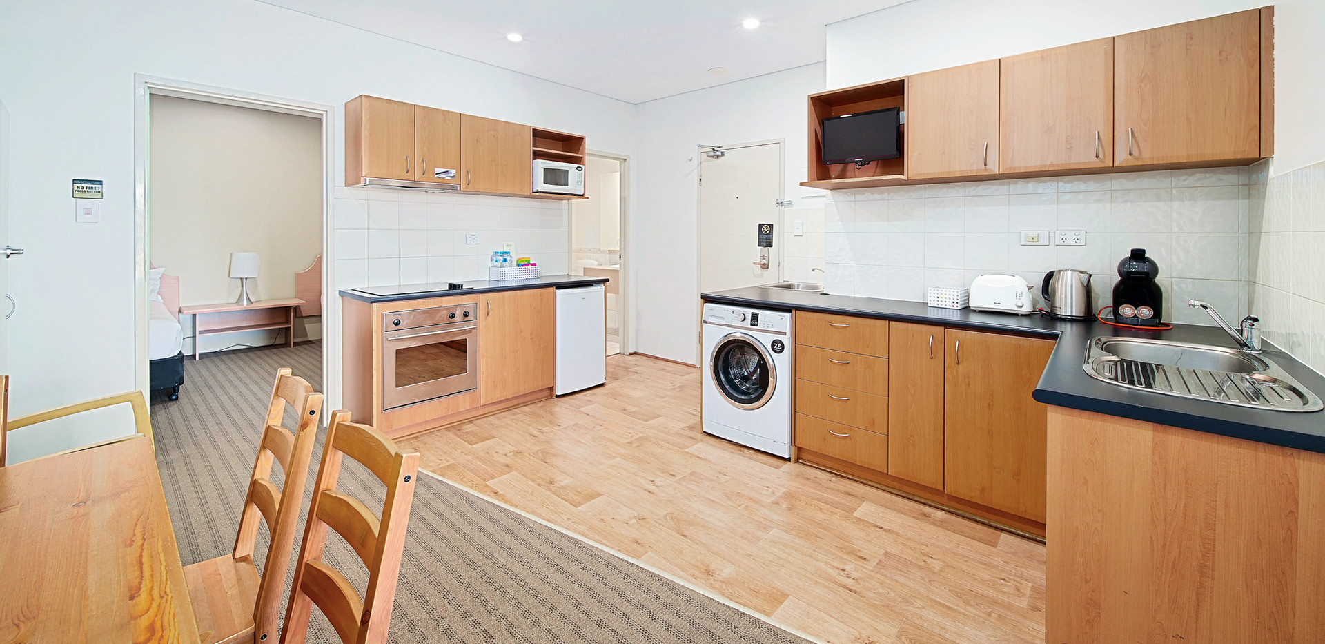18. Kitchen Lounge - Two Bedroom - All S
