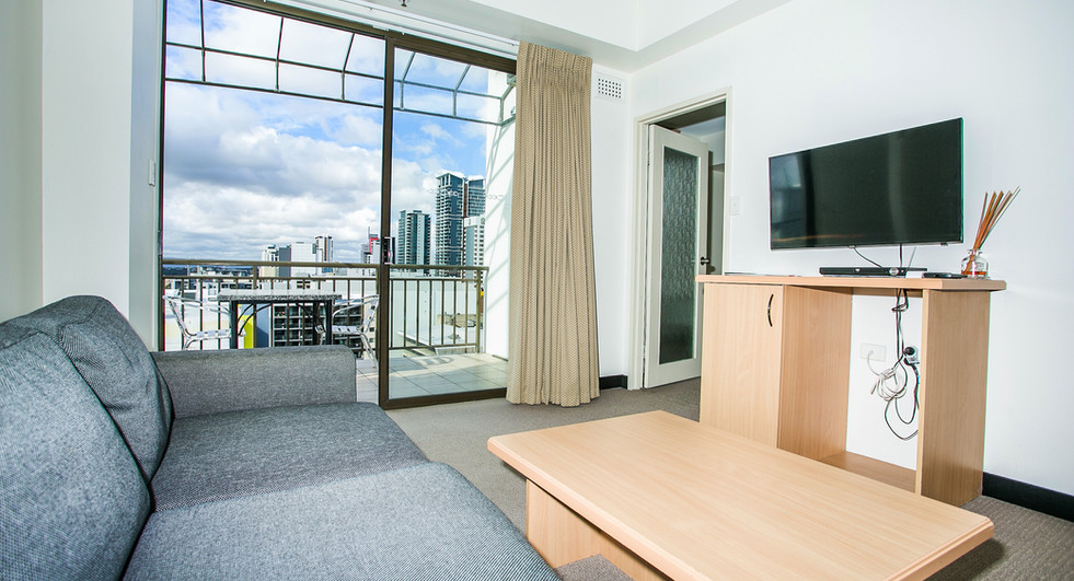 2. Lounge 2 One Bedroom Penthouse Apartm