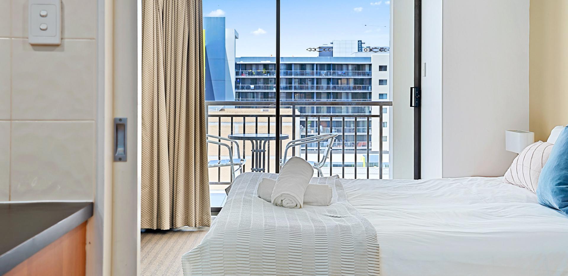 9. Main Bedroom Balcony - Two Bedroom -