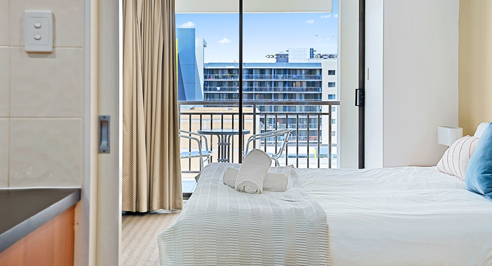 9. Main Bedroom Balcony - Two Bedroom -