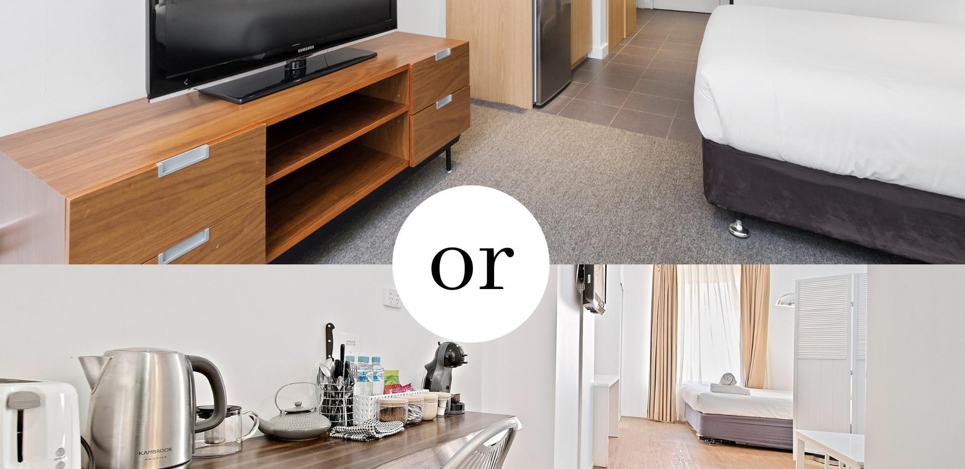 Executive Queen Room - All Suites Perth Serviced Apartments
