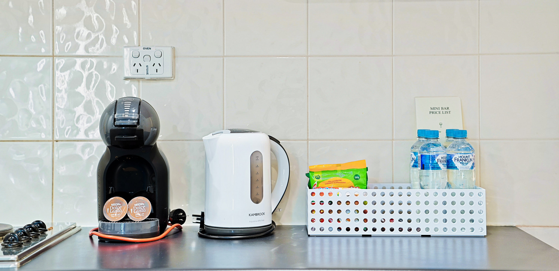 16. Coffee Machine - Two Bedroom - All S