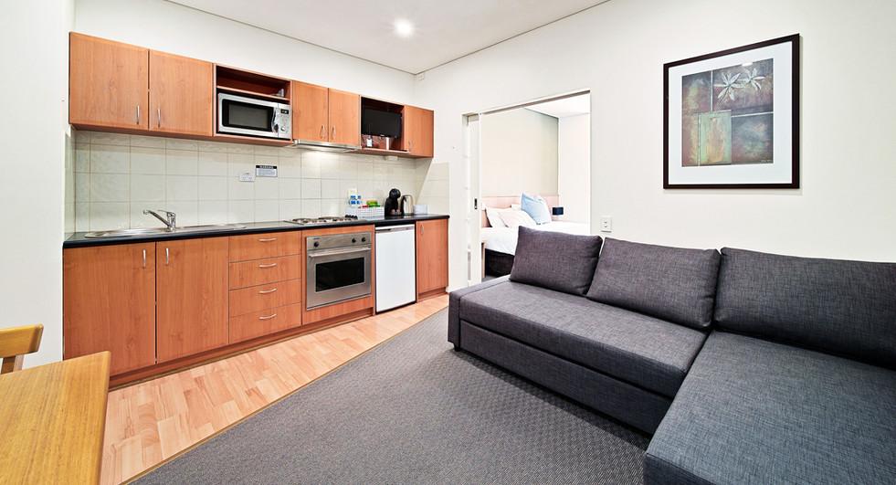 13. Lounge Kitchen Alt One Bedroom Stand