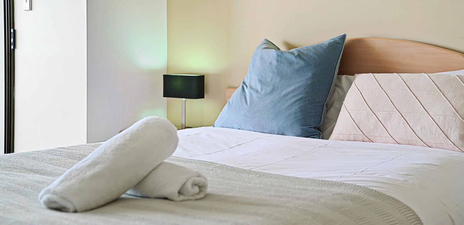 27. Bed in Master bedroom - Two Bedroom