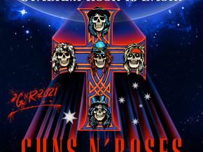 Guns N' Roses at Optus Stadium on 24 Nov 2021