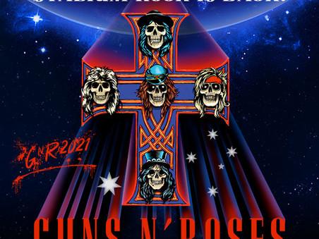 Guns N' Roses at Optus Stadium on 18 November 2022