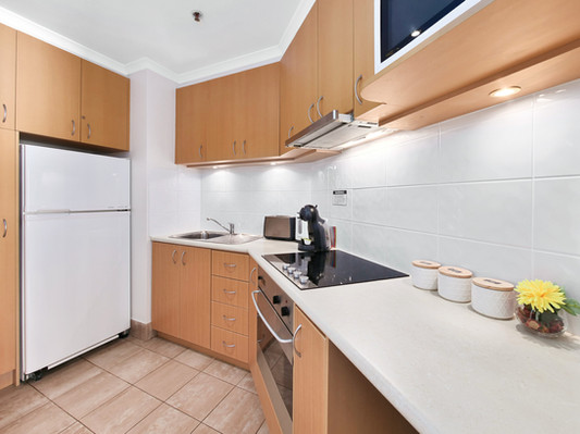 10. Kitchen - Two Bedroom Penthouse - Al