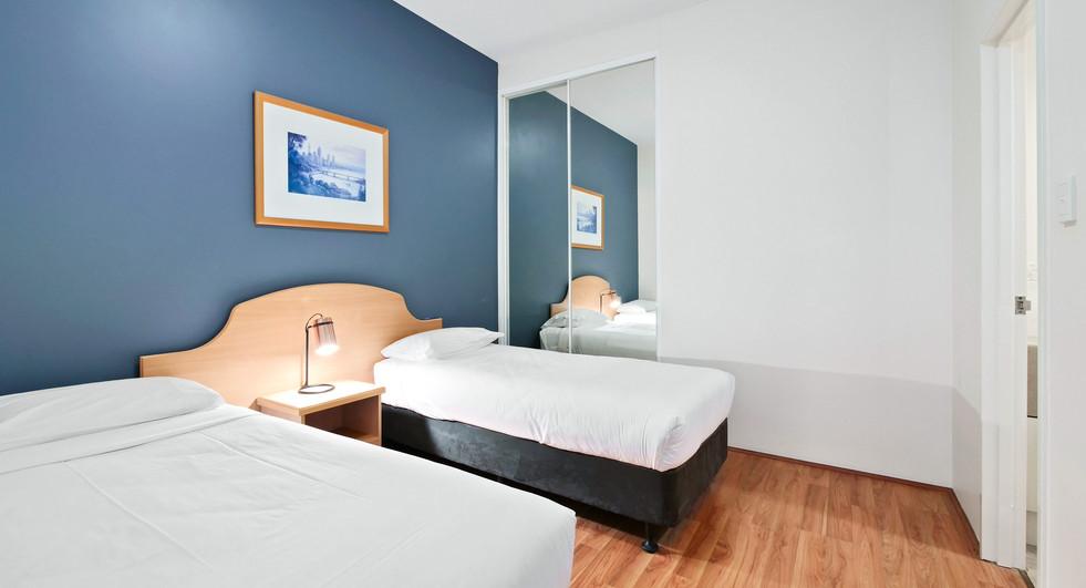 Second Bedroom - Two Bedroom Deluxe