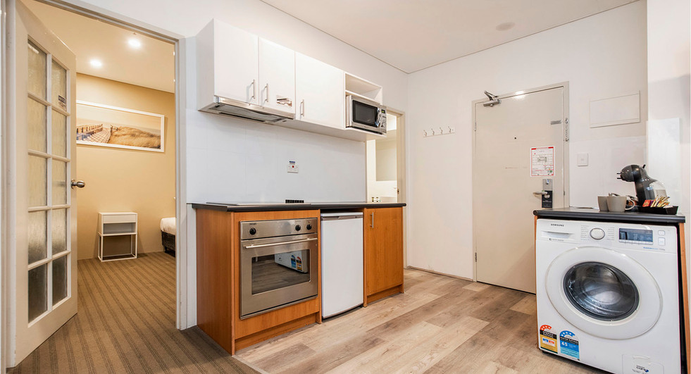 Kitchen - Superior Two Bedroom Serviced